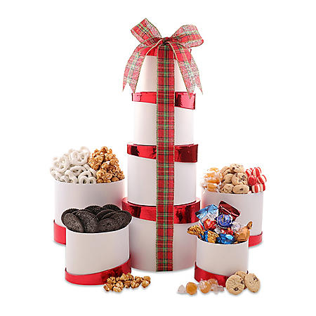 Winter Wonderland Gift Tower