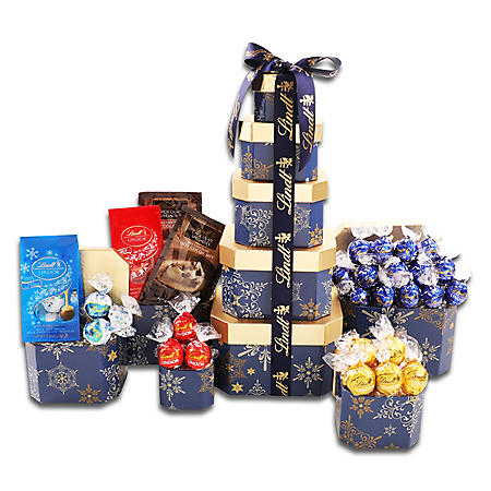Lindt Tower Holiday Gift Tower