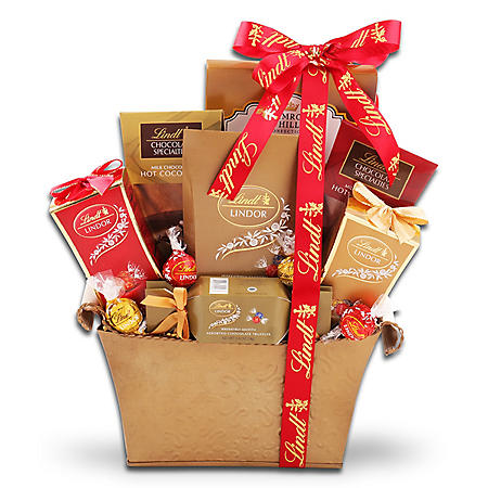 Lindt Chocolate Lovers Gift Basket
