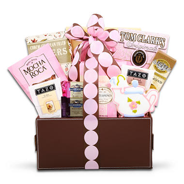 Alder Creek Pretty in Pink Gourmet Gift Basket