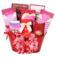 Valentines Day Treats Gift Basket