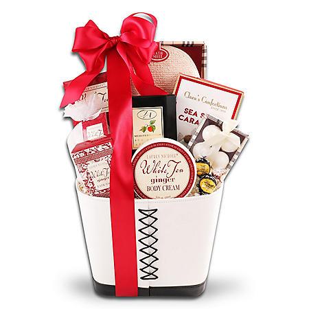 Modern Spa Gift Basket