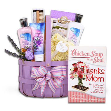 Chicken Soup for the Soul: Lavender Relaxation Gift Basket
