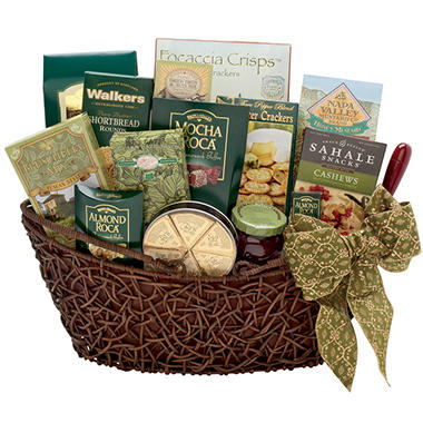 Alder Creek Basket of Gourmet Treats