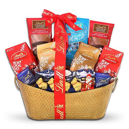 Lindt Holiday Gift Basket