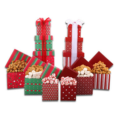 Alder Creek Holiday Gift Towers (2 sets)