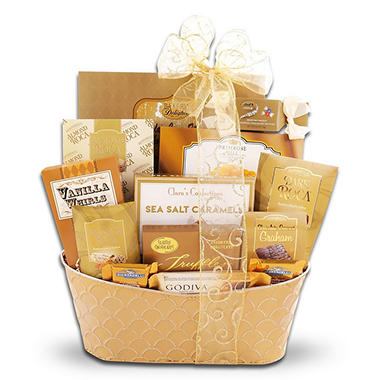 Gourmet Greetings Gift Basket