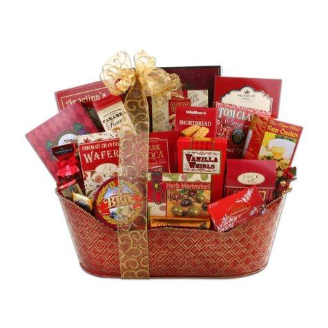Festive Gourmet Gift Basket