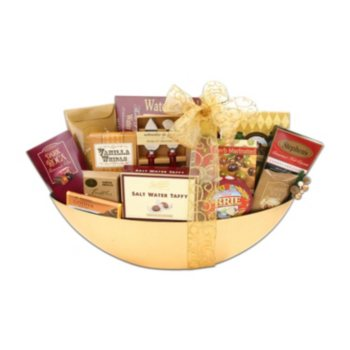 Alder Creek Gift Baskets Golden Wishes Gift Basket
