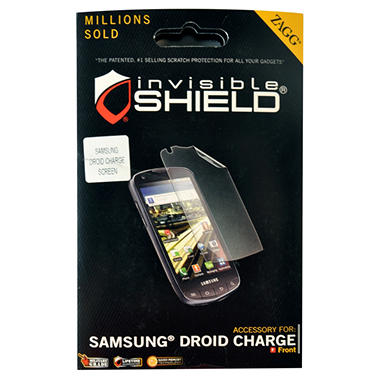 ZAGG SAMSUNG DROID CHARGE SCREEN
