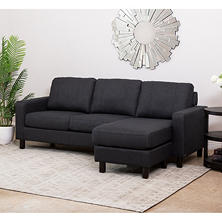 Kristen Fabric Reversible Sectional
