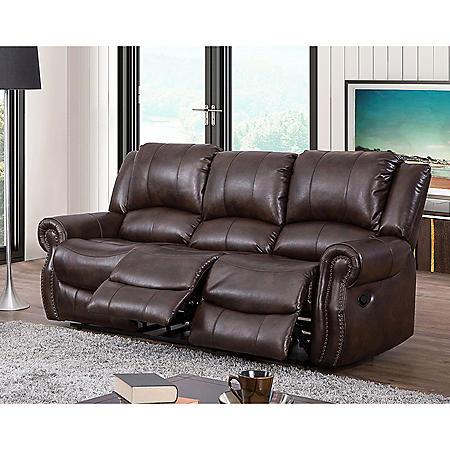 Turner Triple Reclining Fabric Sofa