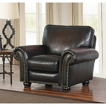 Melrose Leather Recliner