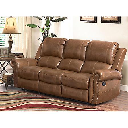 Winston Reclining Leather Sofa