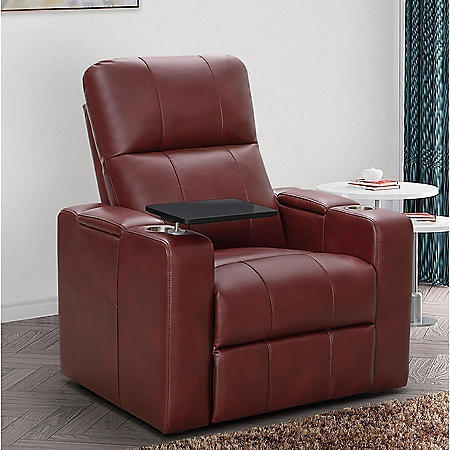 Travis Power-Recline Home Theater Seating (Assorted Colors)