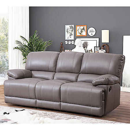 Christopher Top-Grain Leather Reclining Sofa