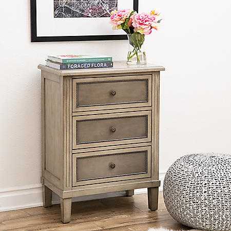 Renzo 3-Drawer Cabinet