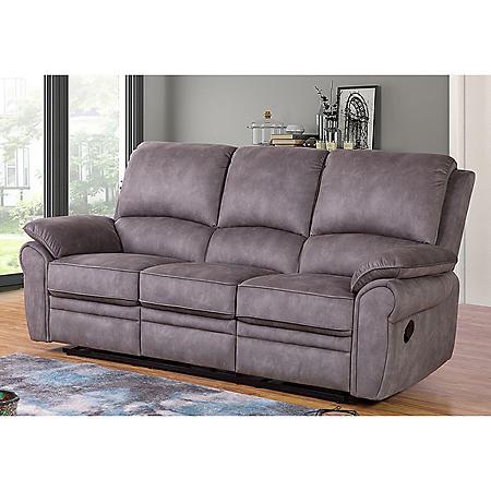 Kensington Fabric Reclining Sofa