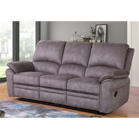 Kensington Fabric Reclining Sofa