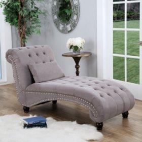 Bainbridge Fabric Chaise Lounge Assorted Colors Sam S Club