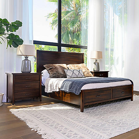 Melville Distressed Wood Bedroom Set (Assorted Sizes)