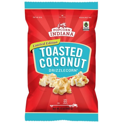 Popcorn Indiana Toasted Coconut Drizzlecorn (17 oz.)