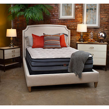 HD Super-Duty Essence Carter Firm Eurotop King Mattress