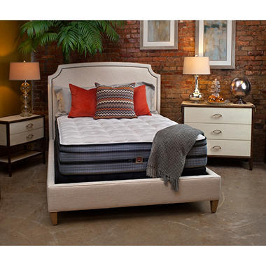 HD Super-Duty Essence Carter Plush Eurotop California King Mattress
