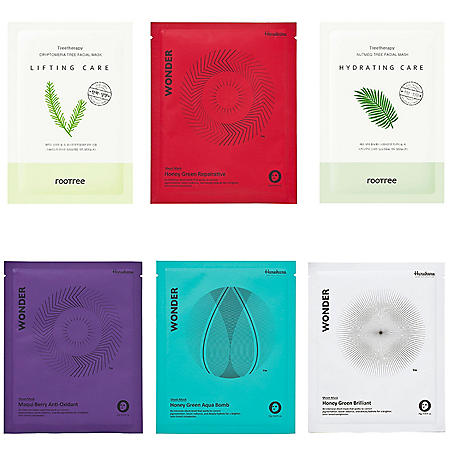 Sheet Mask K-Beauty Box Essentials