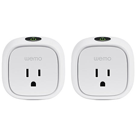 Wemo Insight Smart Plug 2-Pack