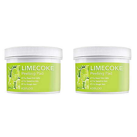 Koelcia Lime Coke K-Beauty Cleansing Pads (2 pk., 70 each)