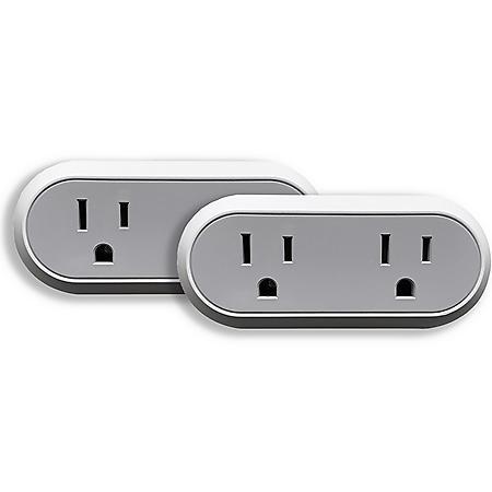 Brookstone Dual Smart Plug (2 Pack)