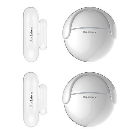 Brookstone Motion Sensor with Door/Window Sensor (2 Pack)