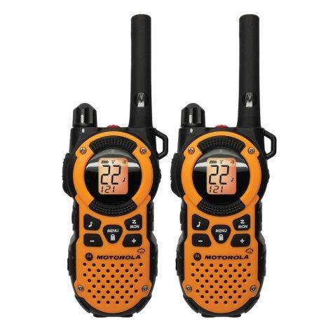 Motorola 2-Way Giant Radio Pack - 35 Mile Range -Orange