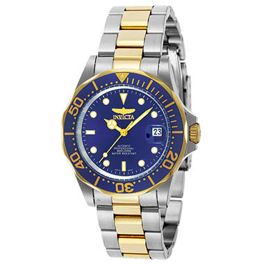 Invicta Men's Pro Diver 200m Water Blue Automatic / Date Watch