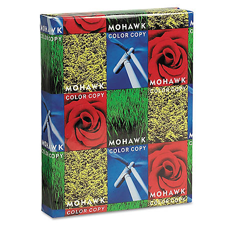 Mohawk - Copier Gloss Paper, 94 Brightness, 32lb, 8-1/2 x 11, Pure White -  500 Shts/Rm