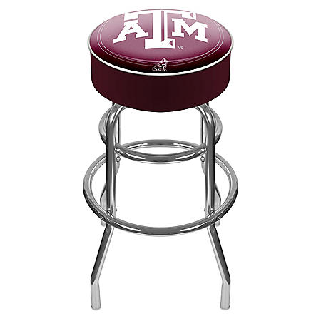 Texas A&M University Backless Bar Stool
