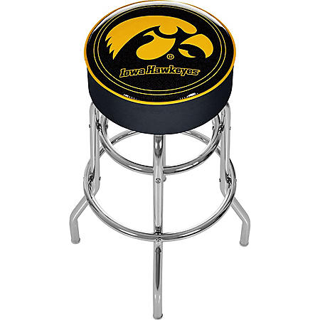 University of Iowa Backless Bar Stool