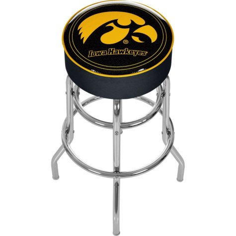 University of Iowa Backless Bar Stool