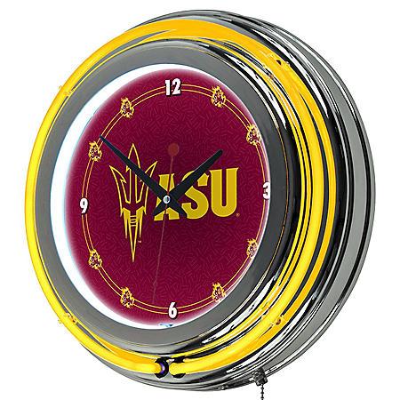 Arizona State University Neon Wall-Mounted Clock