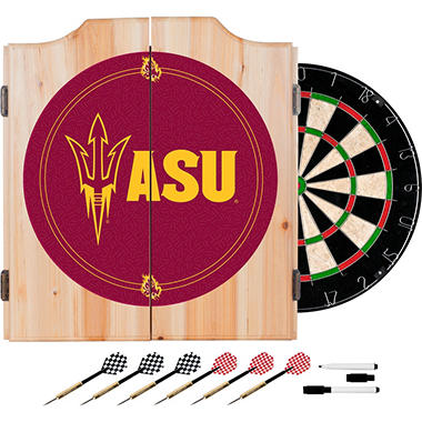 Arizona State University Dart Cabinet Set