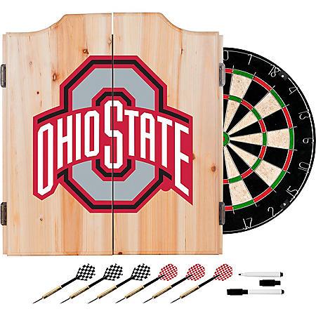 Ohio State University Dart Cabinet Set (Assorted Styles)