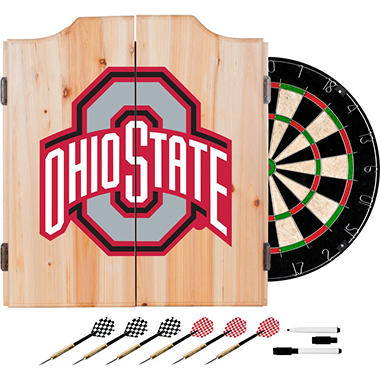 Ohio State University Dart Cabinet Set (Assorted Styles)