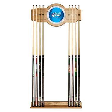 Bud Light Blue Billiard Cue Rack (Assorted Styles)