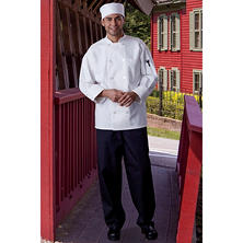 Mesh Back Chef Coat, White (X-Small - 4XL)