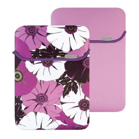 "15.6"" MacBeth Reversible Sleeve - Peridot Lexi/Purple"