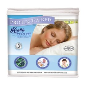 Protect-A-Bed Health-Ensure Mattress Protector, Waterproof (Assorted Sizes)