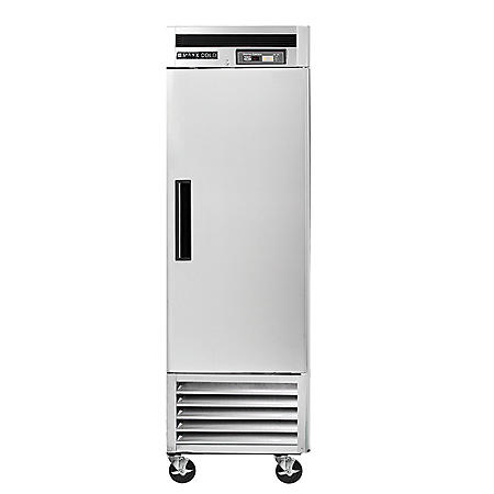Maxx Cold Single Door Commercial Reach-in Refrigerator with Stainless Interior and Exterior (23 cu. ft.)