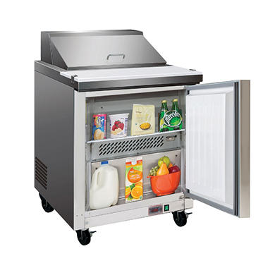 Maxx Cold X-Series Commercial Refrigerator, Stainless Steel (7 cu. ft.)