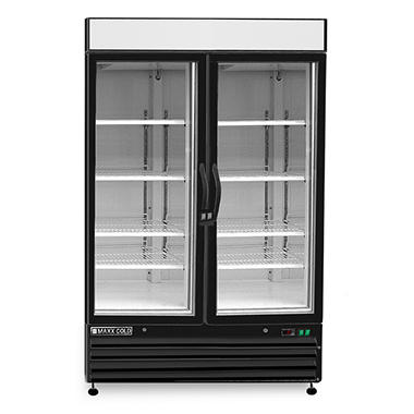 Maxxium X-Series Merchandiser Freezer with Glass Door (48 cu. ft.)